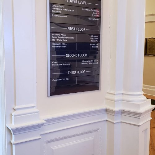 Interior Display and Directories (8)